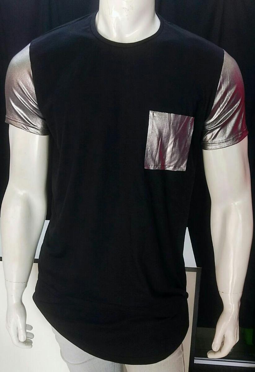 6d4d2888ec camiseta comprida stecchi top swag longline oversized. Carregando zoom.