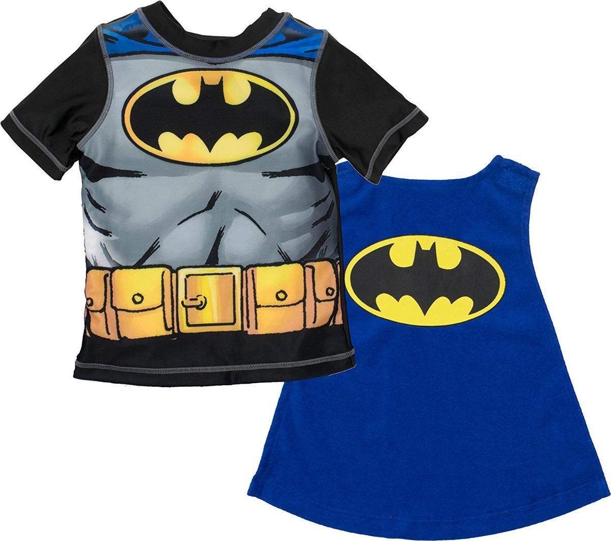 1ab5ab148 camiseta con capa para niño de batman warner bros. Cargando zoom.