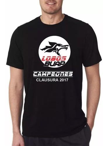 camiseta conmemorativa lobos buap campeón / envío incluido
