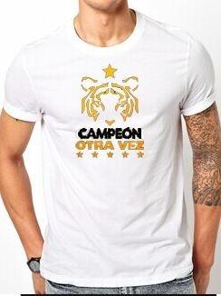 camiseta conmemorativa tigres campeón apertura 2017 blanca