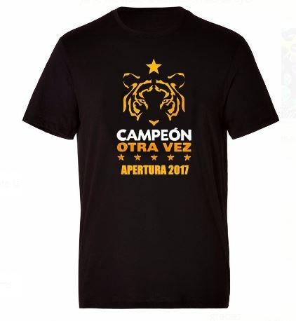 camiseta conmemorativa tigres campeón / infantil