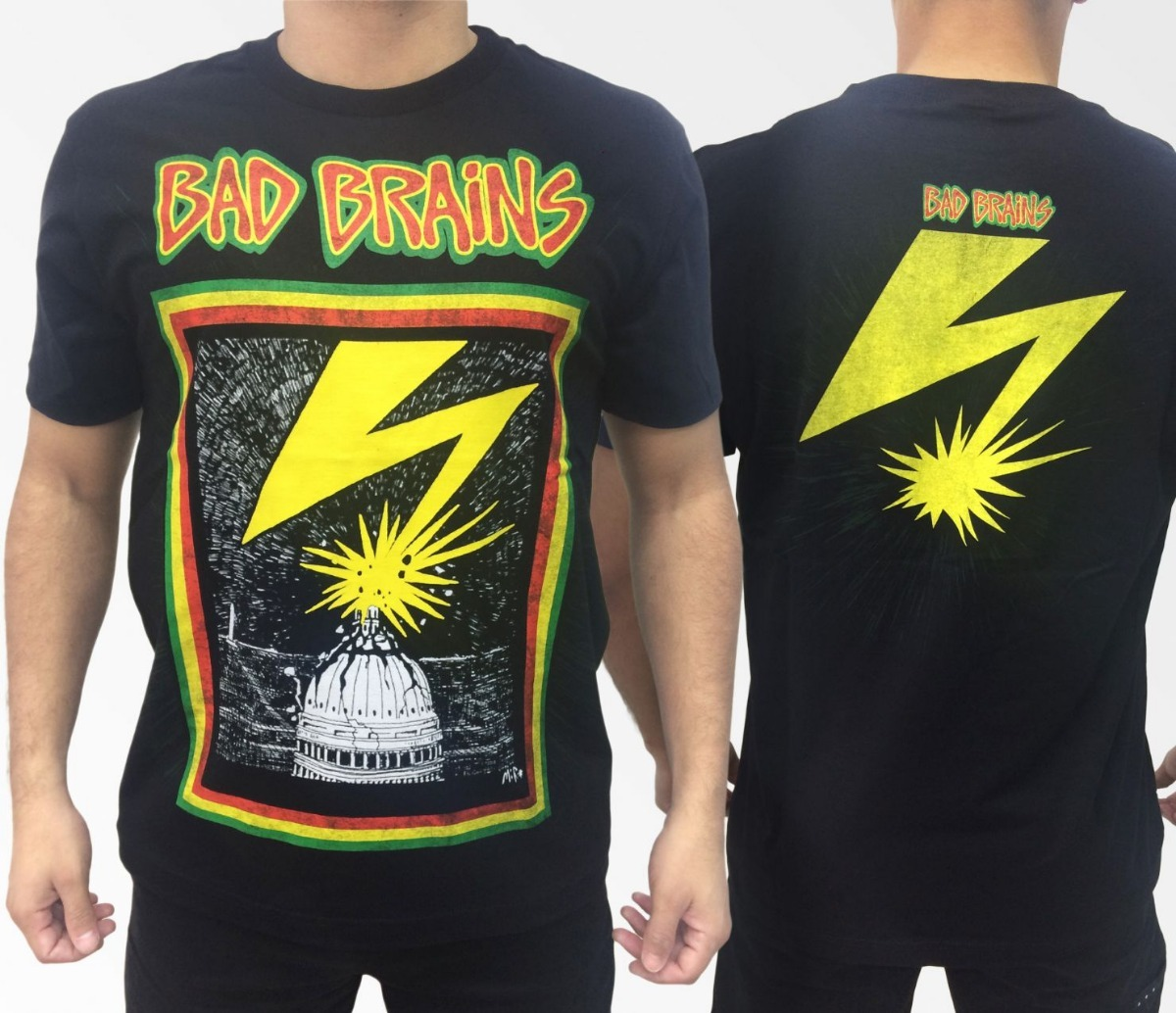 561e581572df3 Camiseta Consulado Do Rock E1221 Bad Brains Camisa Banda - R$ 55,01 ...
