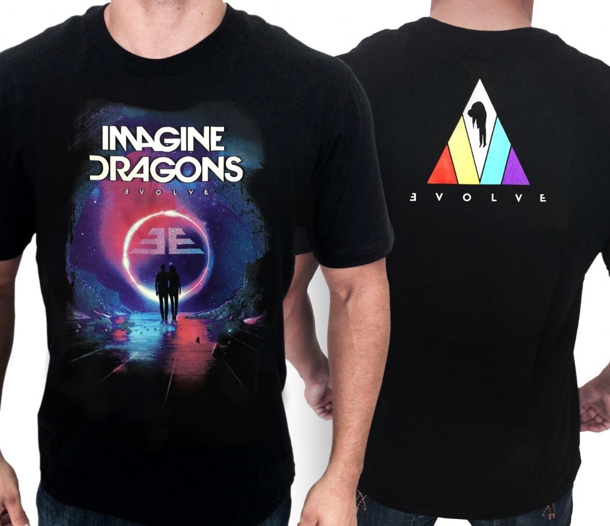 e8c8faefaf532 camiseta consulado do rock e1387 imagine dragons camisa band. Carregando  zoom.