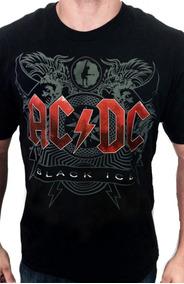 62cbad6943286 Conjunto Com 5 Camisetas De Bandas De Rock - Calçados, Roupas e Bolsas com  o Melhores Preços no Mercado Livre Brasil