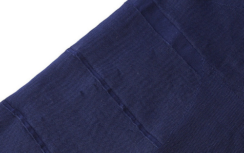 camiseta control abdomen - pecho - brazos talla m azul