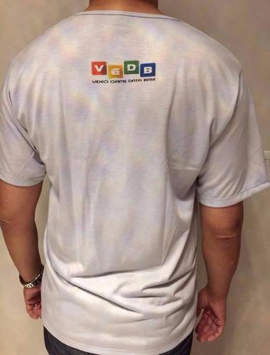 camiseta controle phantom system / mega drive vgdb