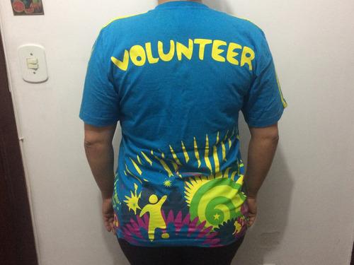 camiseta copa do mundo 2014 voluntários tamanho m