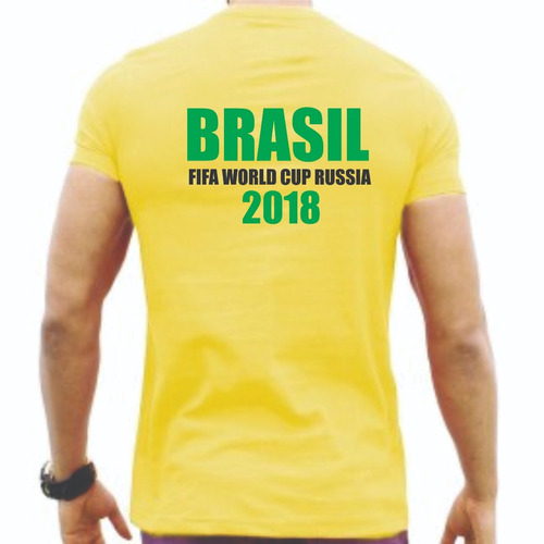 camiseta copa do mundo 2018 russia brasil promoção!