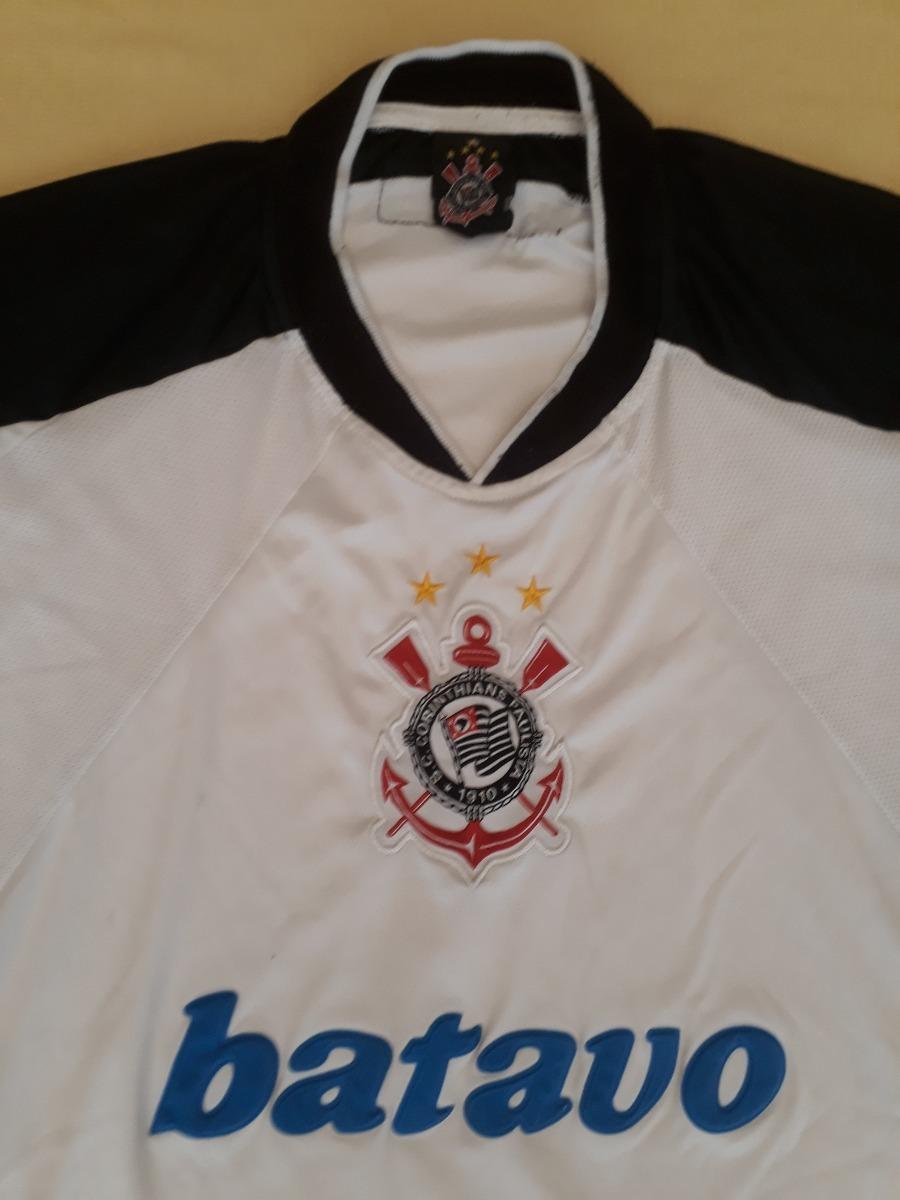 26b687cb92 camiseta corinthians 2000 campeão mundial comemorativa 0. Carregando zoom.