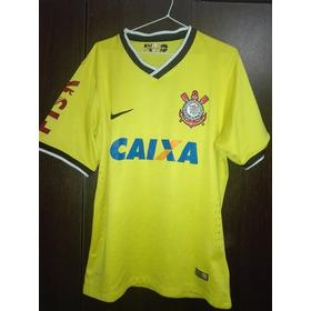 Camiseta Corinthians Amarilla 2015
