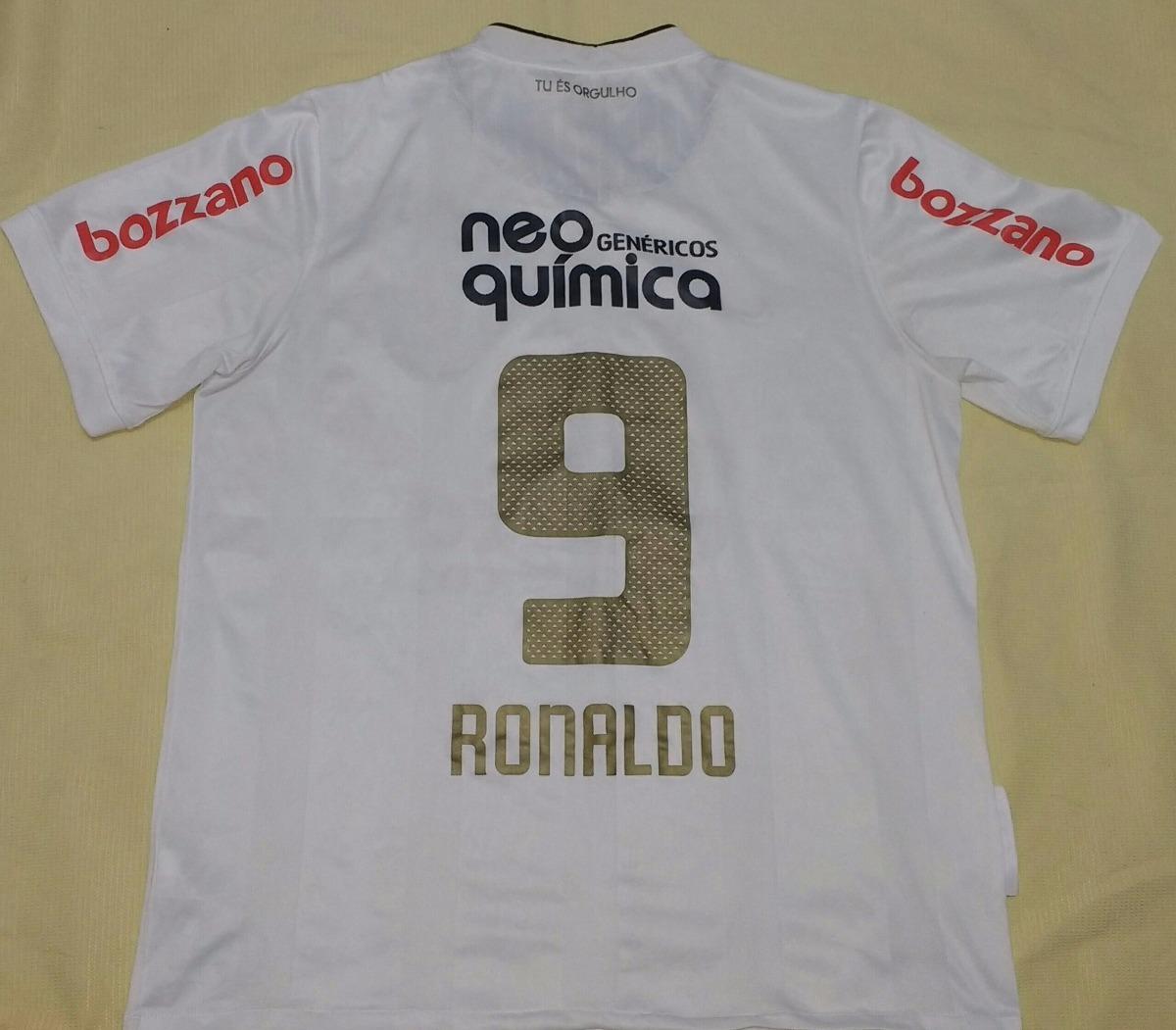 camiseta corinthians centenário 2010 ronaldo orig nike- 12. Carregando zoom. 3f1cc147bc17e
