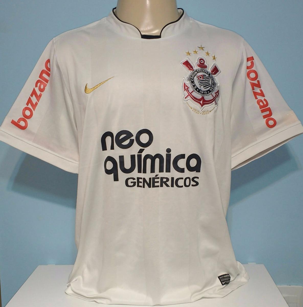 b21ca0c643 camiseta corinthians centenário ronaldo 9 original nike - 12. Carregando  zoom.