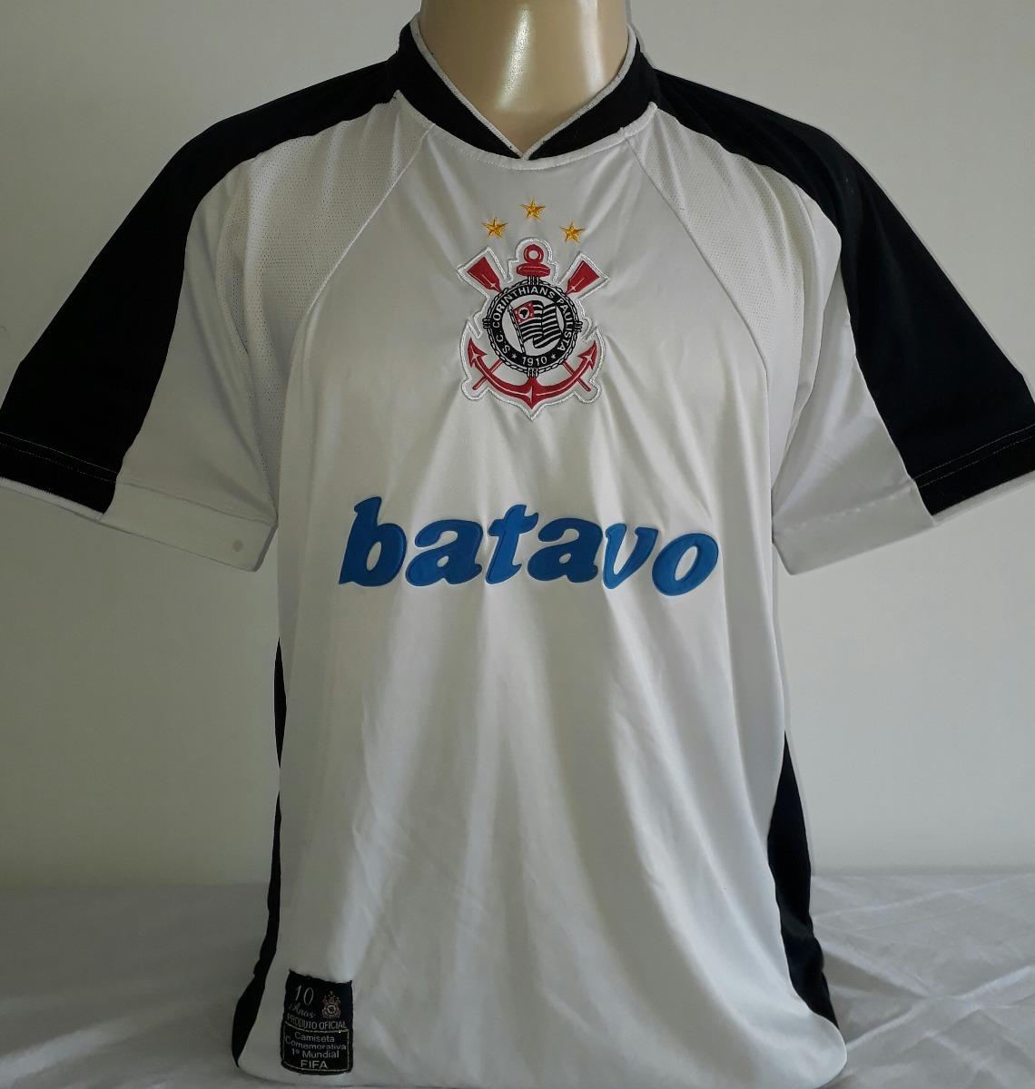 2b12cfa944 camiseta corinthians comemorativa campeão mundial 2000 0. Carregando zoom.