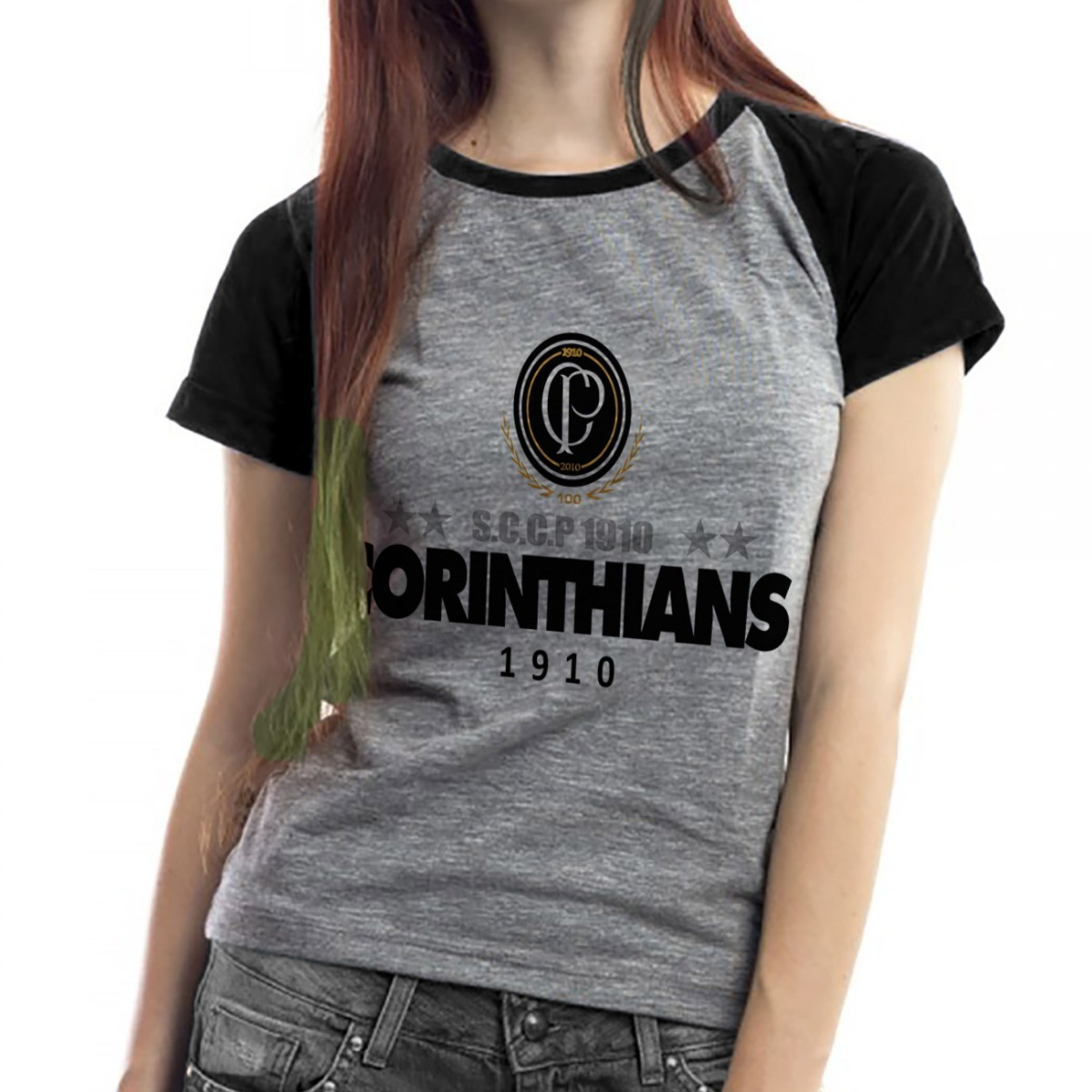 f9ba26292c camiseta corinthians feminina baby look raglã timão 2019. Carregando zoom.