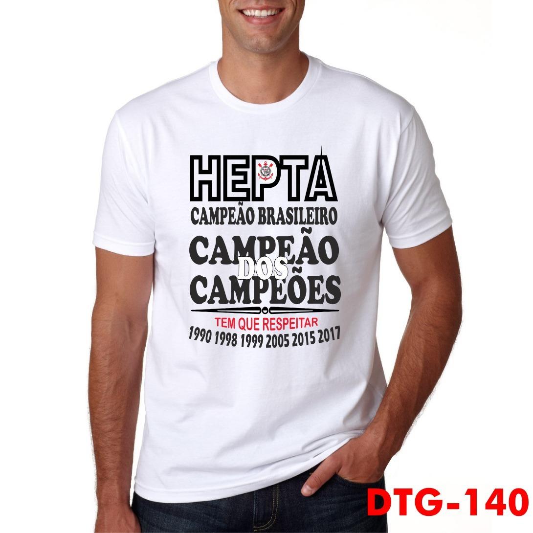 efa5e29aa4 camiseta - corinthians hepta campeão 2017. Carregando zoom.