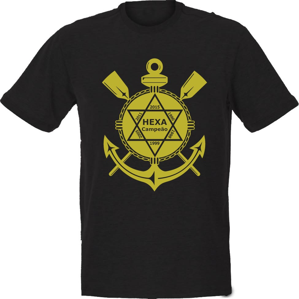 3167c04335b36 camiseta corinthians hexa campeão. Carregando zoom.