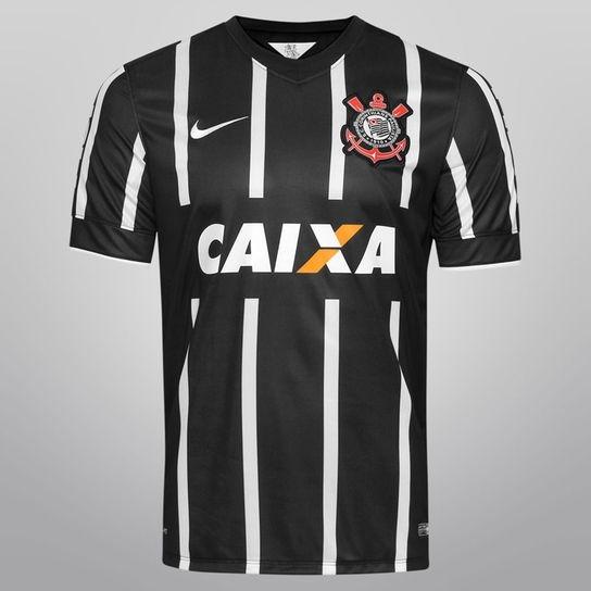 e23b5fa918 Camiseta Corinthians Nike Listrada 2014 Modelo Jogador - 56 - R  399 ...