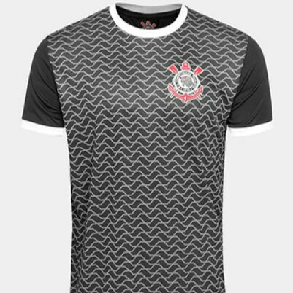 camiseta corinthians original linha torcedor preta - p -. Carregando zoom. 0a4f19ae2d25e