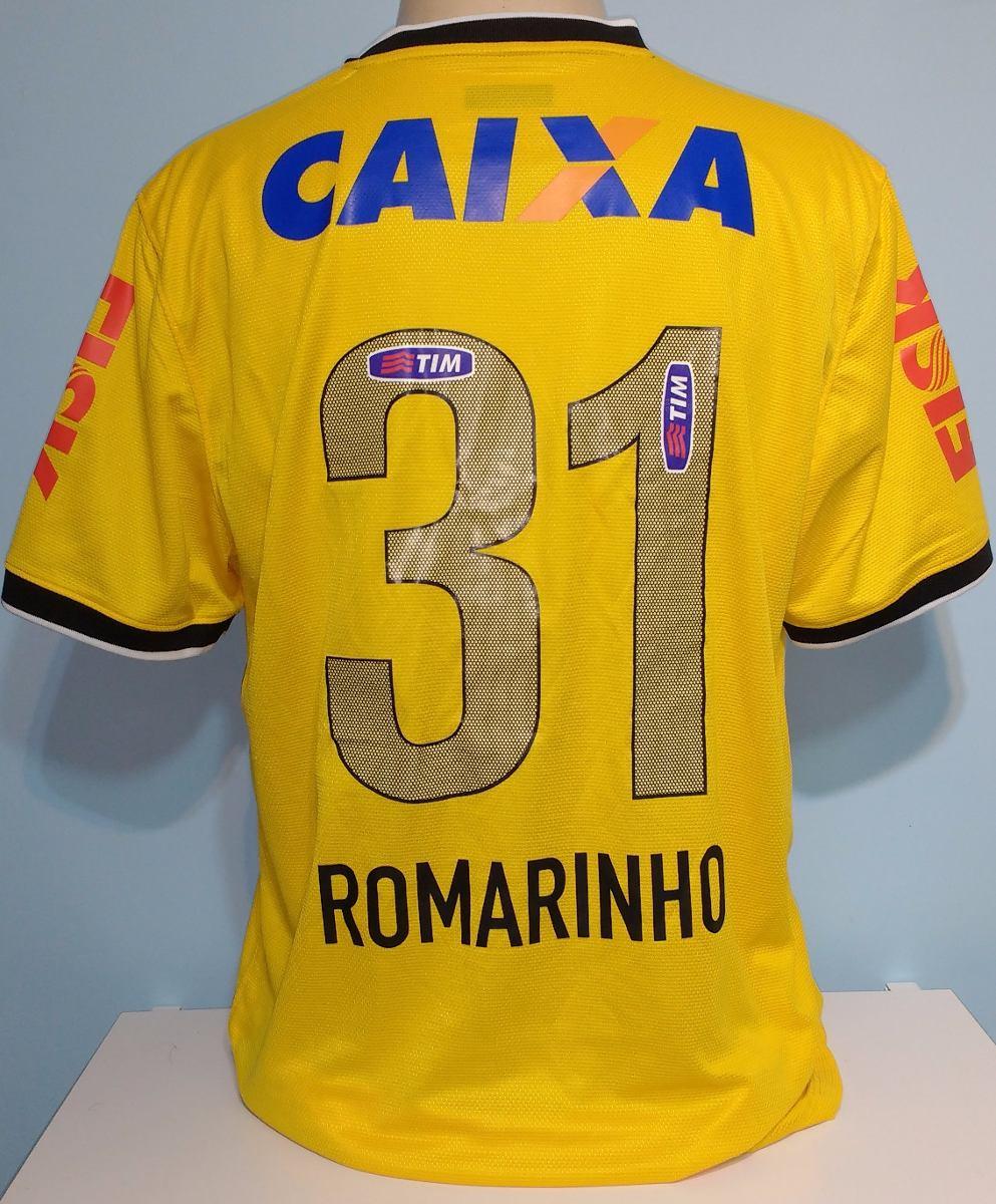 80b3a92cf2 camiseta corinthians romarinho 2014 amarela original nike. Carregando zoom.