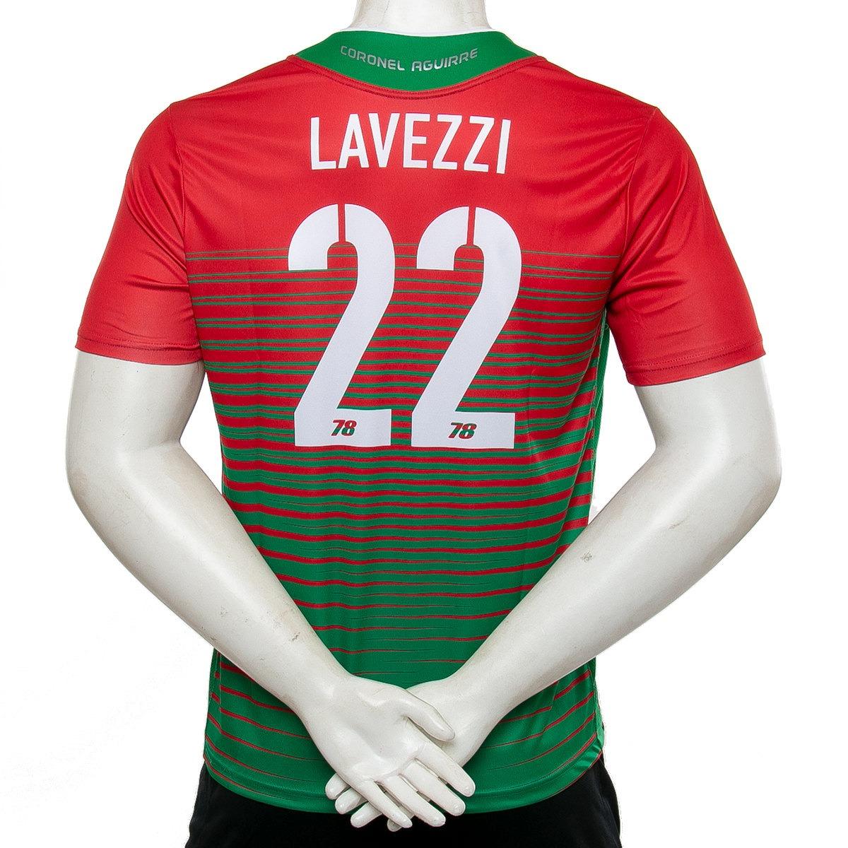 camiseta coronel aguirre  22 lavezzi 78. Cargando zoom. 1132bcb3b24a1