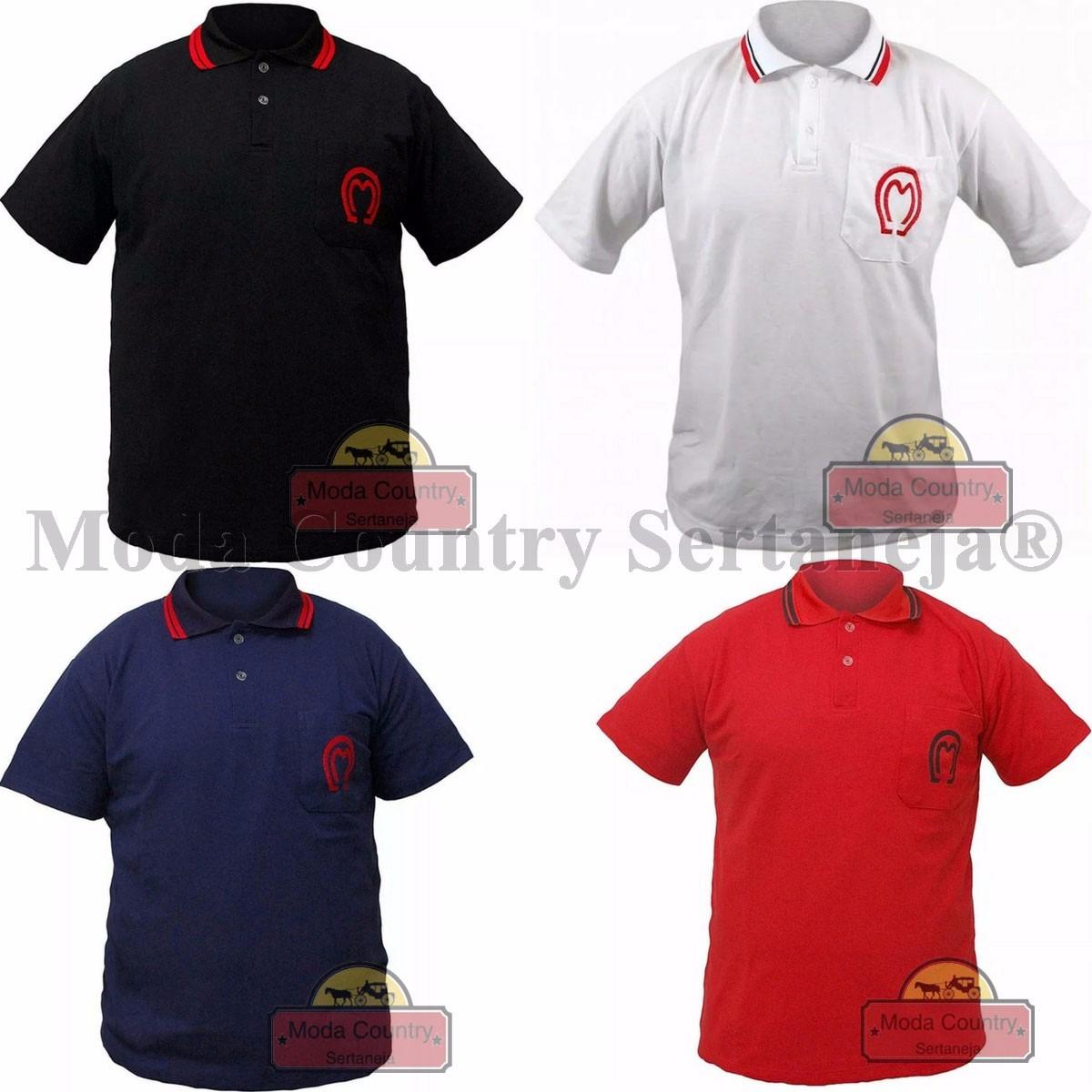 camiseta country polo mangalarga marchador oferta + brinde. Carregando zoom. f5a12170e22