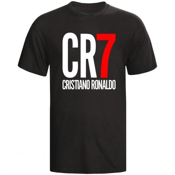 f45a024eb6 Camiseta Cr7 Camisa Cristiano Ronaldo Fã Real Madrid Cr7 - R$ 35,49 ...