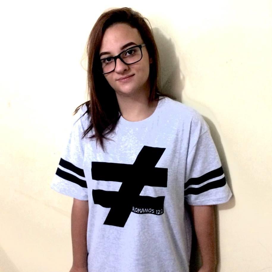 Camiseta Cristã Romanos 12 2 - R  37 2840c4b61389b