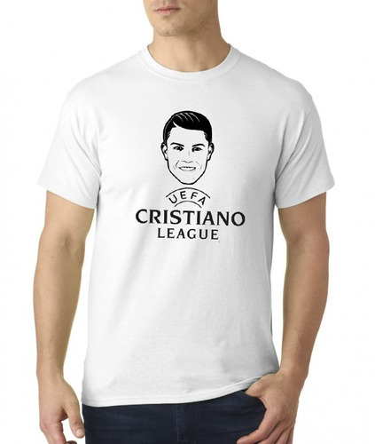 camiseta cristiano ronaldo champions / sublimada