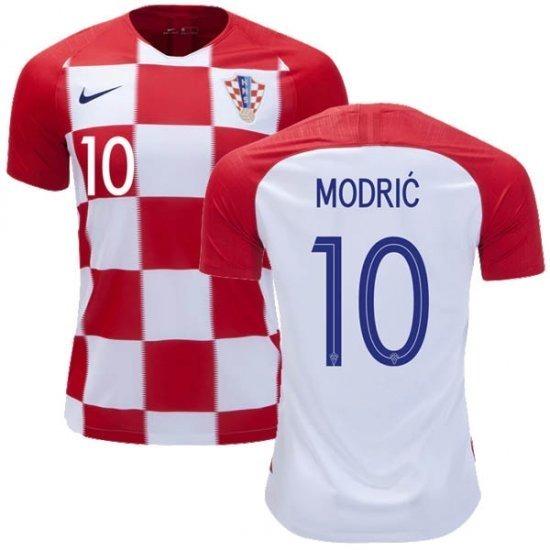 f165be263abb7 Camiseta Croacia 2018 Original Mundial 10 Modric -   1.970