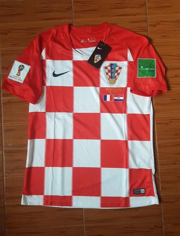 camiseta croacia titular mundial 2018 - parches y match day. Cargando zoom. f2614e1ff947a