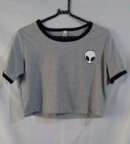 camiseta cropped blusa