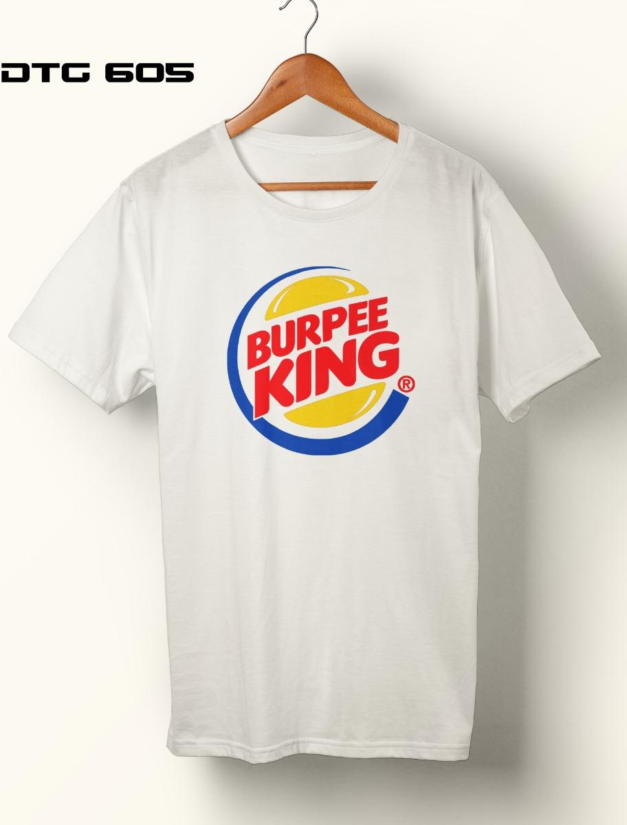 698768d15064e camiseta crossfit fitness - burpee king. Carregando zoom.