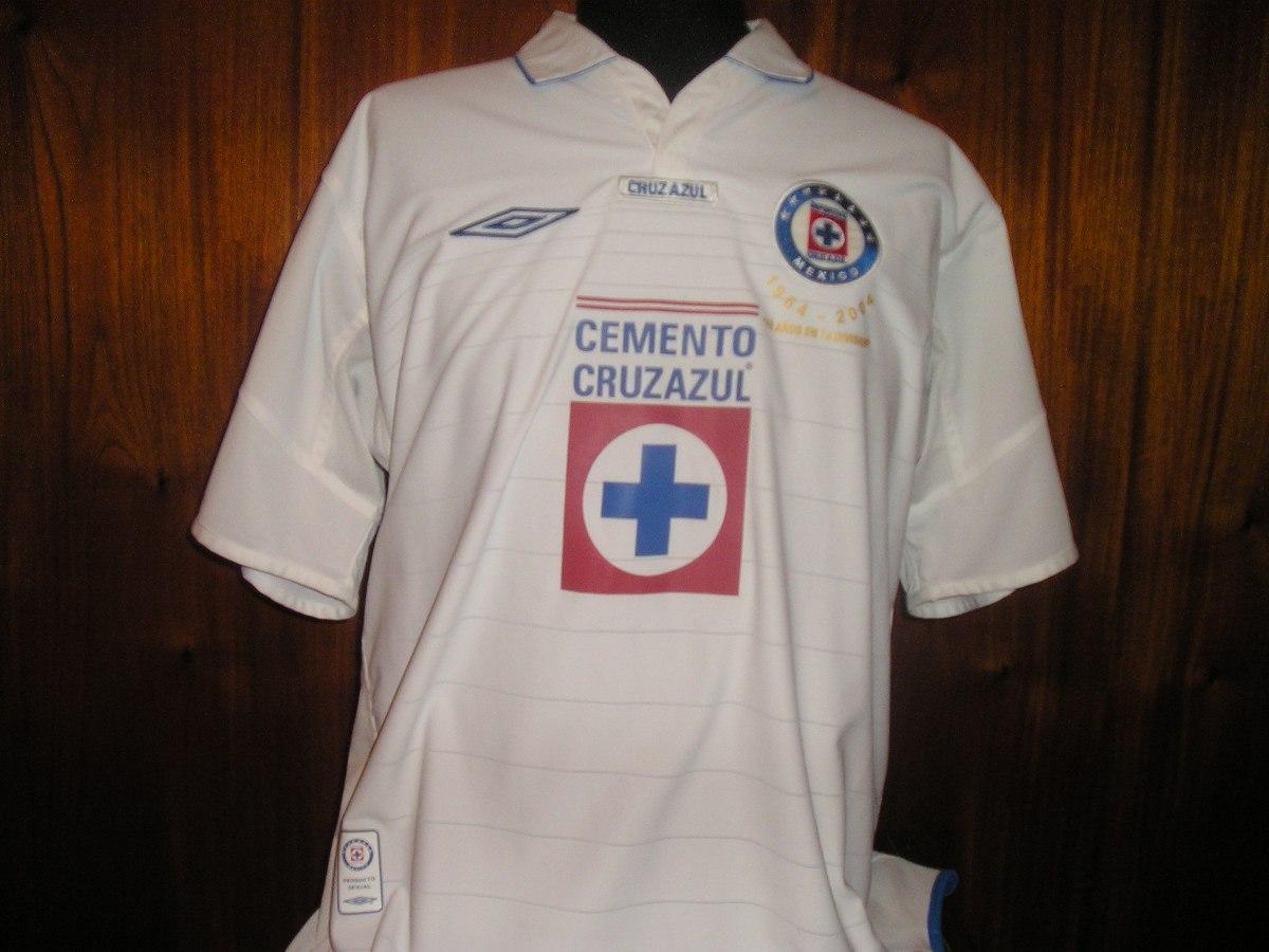 df48f3cacd0 camiseta cruz azul umbro reversible aniversario 40 en 1ra. Cargando zoom.