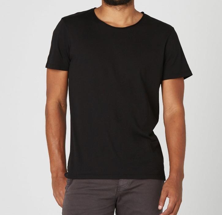 Camiseta En Negro Cuello Redondo Para Talla M Color Hombre ukXPiZ
