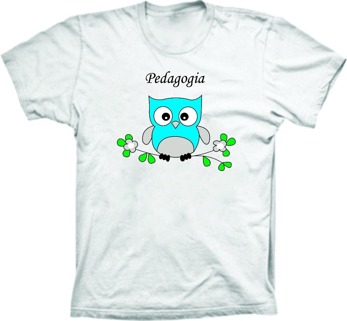 96b3fceeecd8d Camiseta Curso Pedagogia