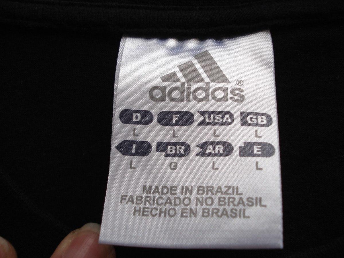 7ec1ca6548 camiseta da adidas 100 % algodao tam g. Carregando zoom.