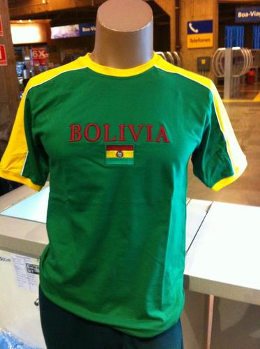 camiseta da bolívia