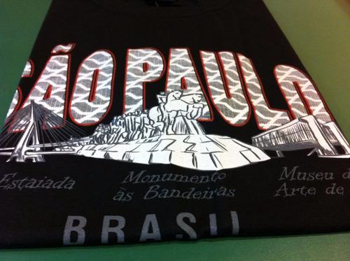 camiseta da cidade de são paulo