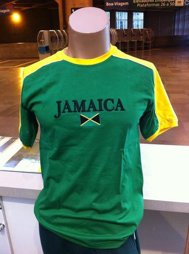 camiseta da jamaica