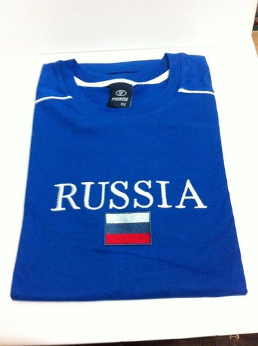 camiseta da rússia