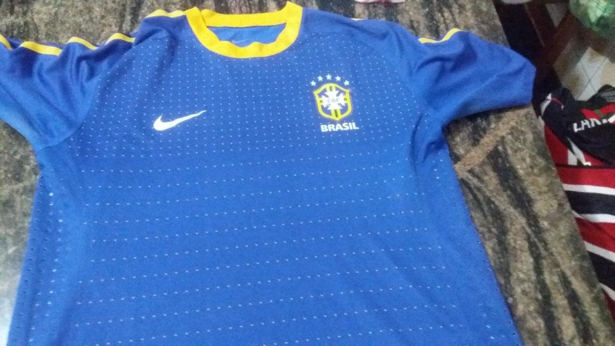 camiseta da seleção brasileira azul - uniforme 2 - nike. Carregando zoom. 1b56869a741b1