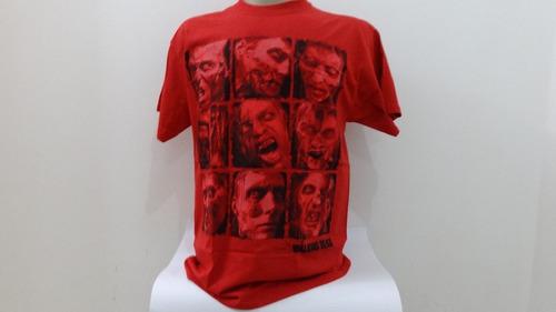 camiseta da série the walking dead oficial e importada