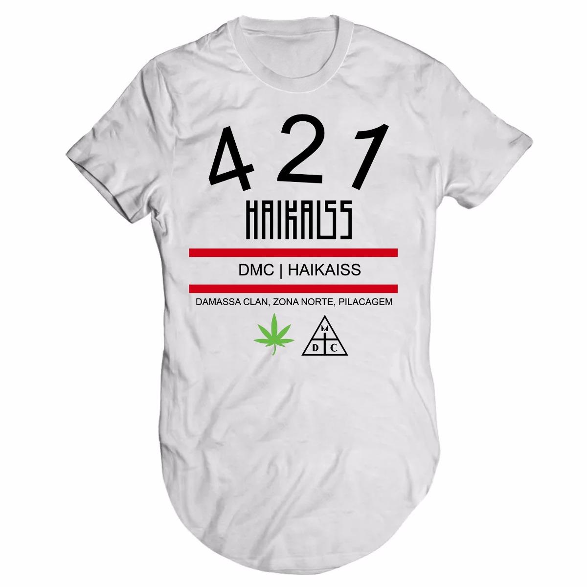 camiseta damassaclan haikaiss rap dmc longline. Carregando zoom. 14f70e47fe1
