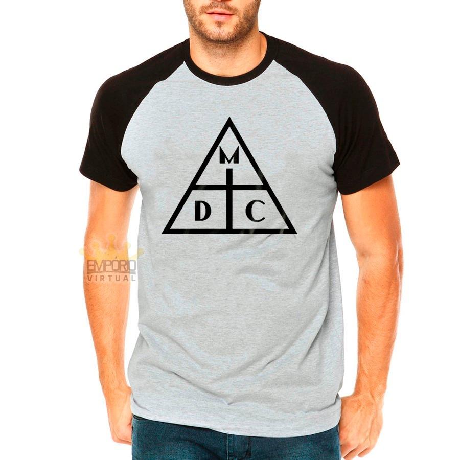 Camiseta Damassaclan Raglan Dmc New Rap Camisa Rapper - R  77 26cb323cb5d