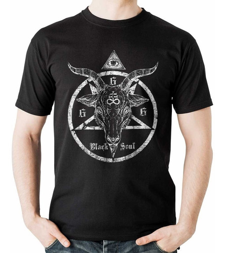 camiseta dark soul carnero negro cabro rock activity