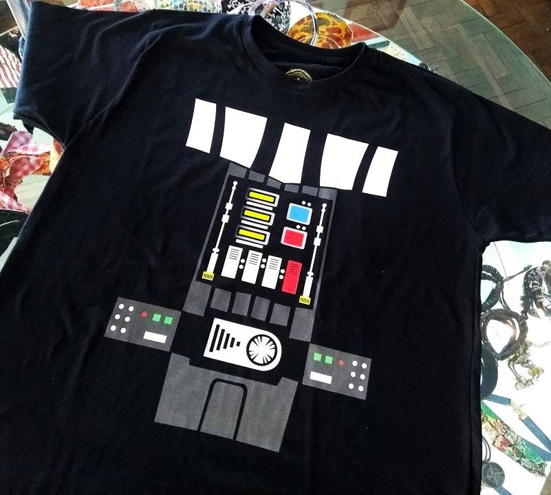 e6b9618d8 camiseta darth vader star wars guerra nas estrelas fantasia. Carregando zoom .