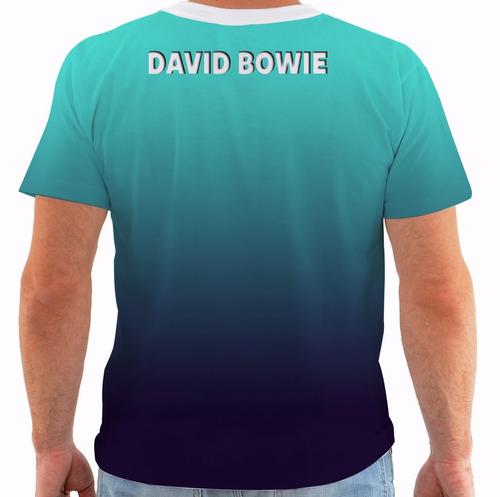 camiseta david bowie - concert poster - live new york