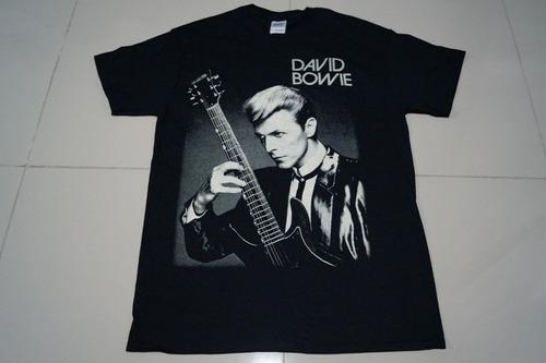 camiseta david bowie rock activity