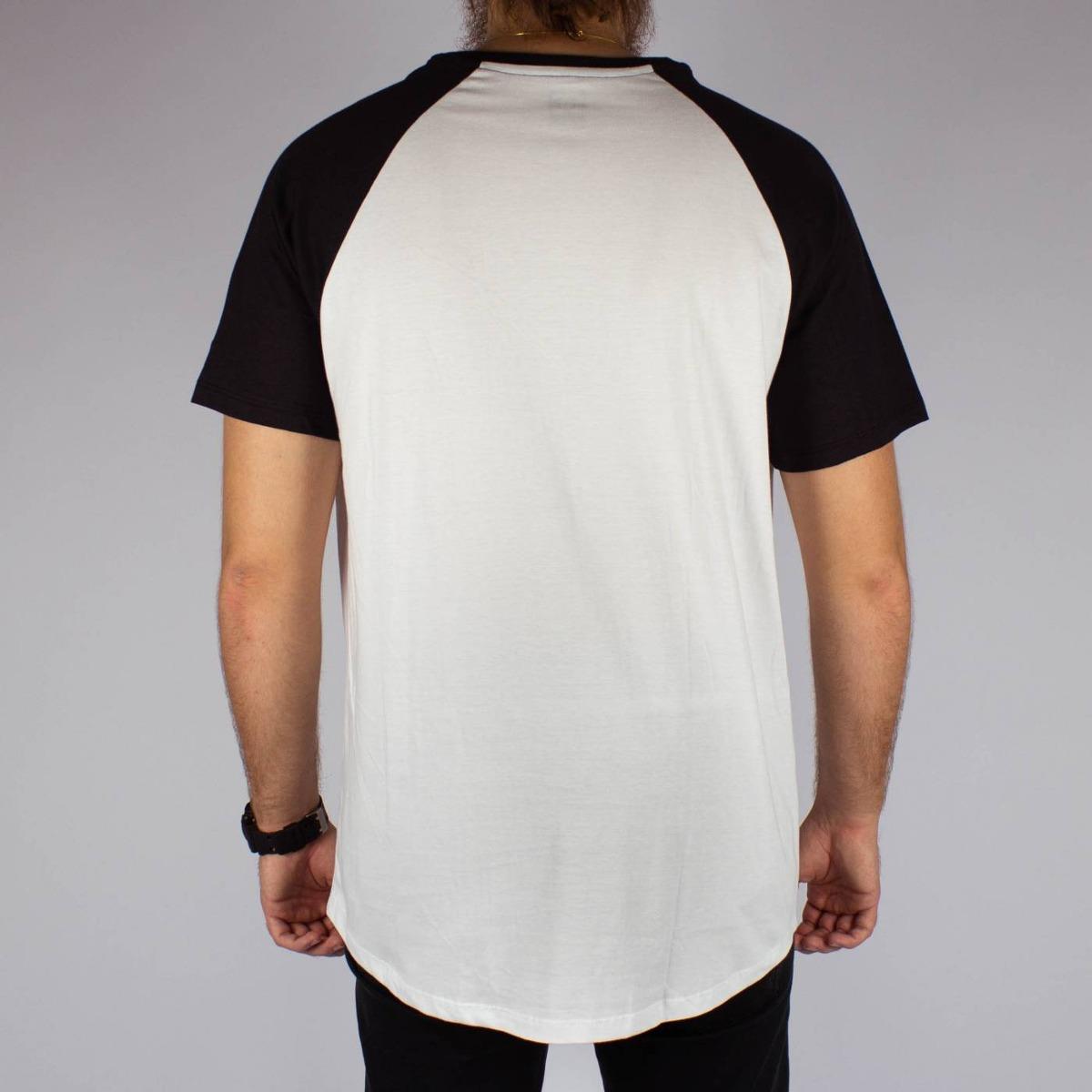 676396c965 camiseta dc shoes star raglan branca preta original skate. Carregando zoom.