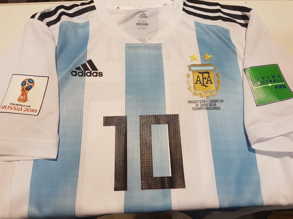 camiseta de argentina adidas climachill 10 messi. Cargando zoom. 201763848a160